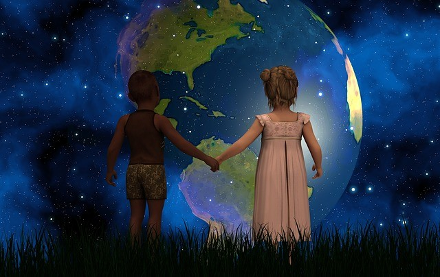 Планета Земля для детей.