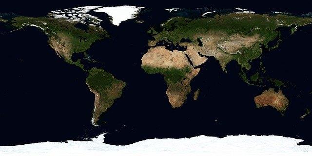 Континенты Земли