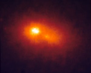 Двойное ядро галактики