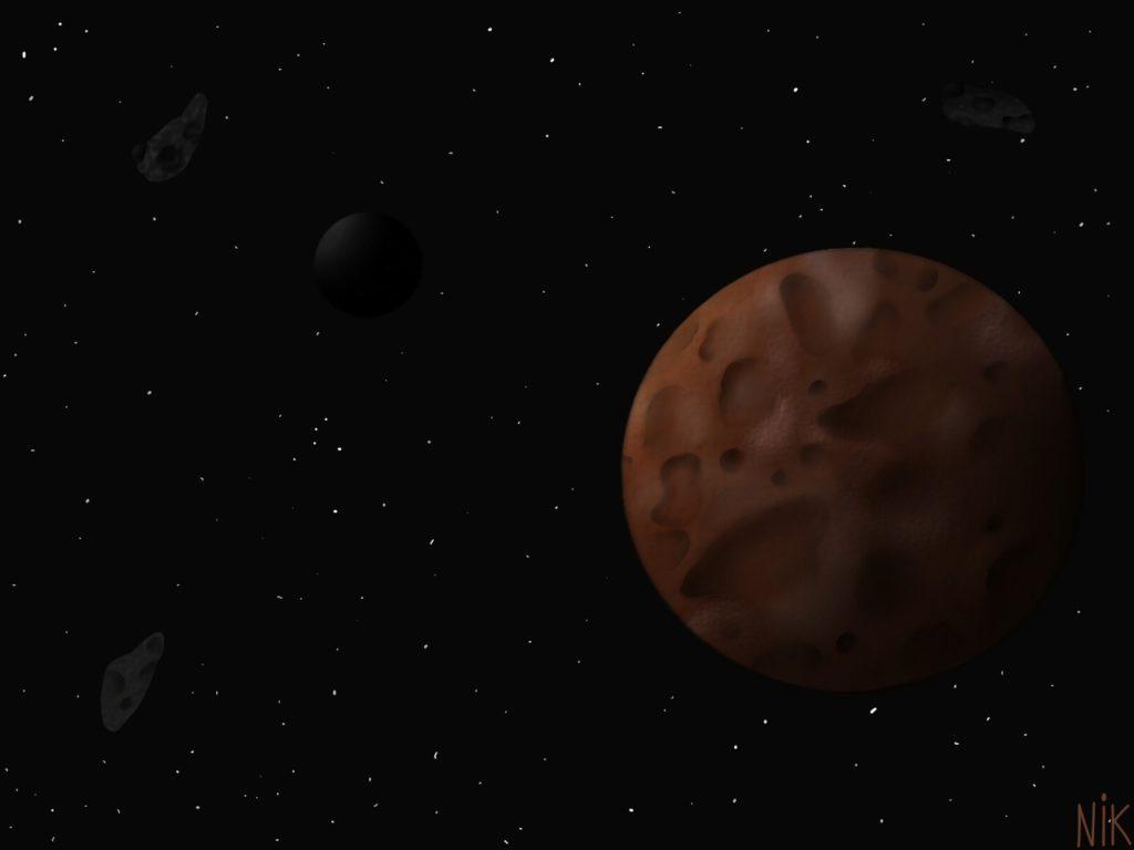 Карликовая планета Макемаке