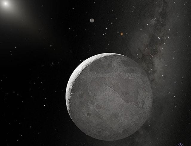 Карликовая планета Эрида