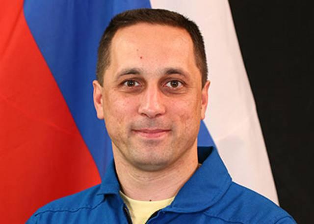 Космонавт Антон Николаевич Шкаплеров