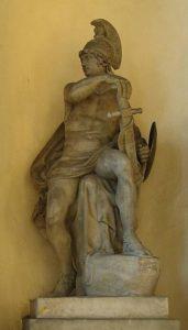 Статуя бога войны Марса
