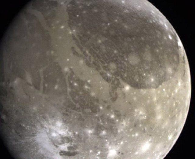 Спутник планеты Юпитера Ганимед