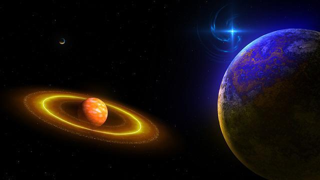 Какие планеты Солнечной системы имеют кольца