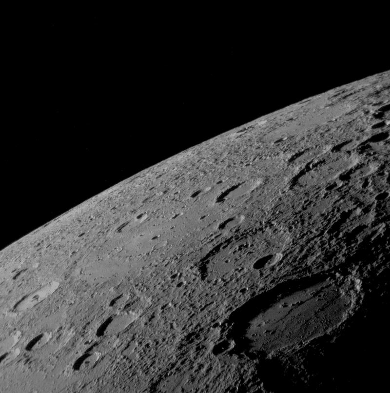 Поверхность у Меркурия