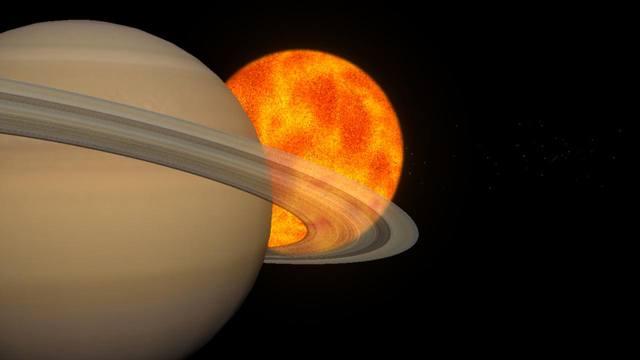 Солнце и Сатурн