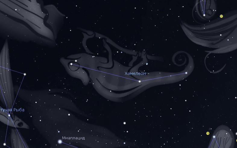 Созвездие Хамелеон