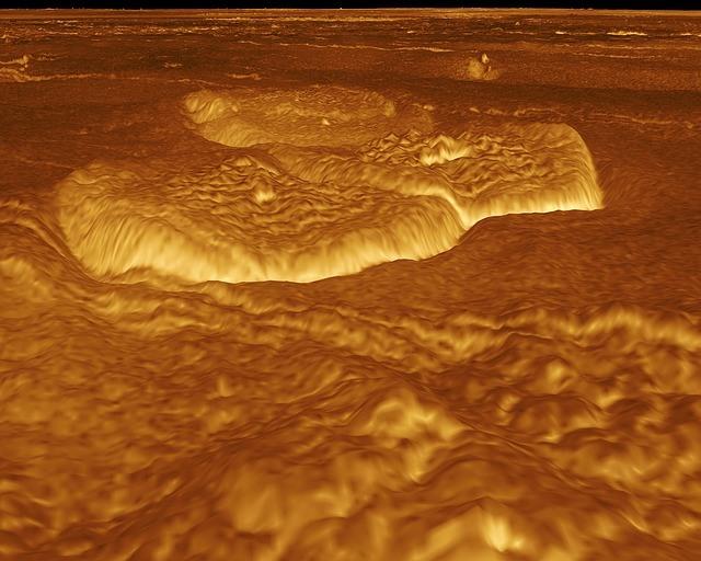 Планета Венера поверхность