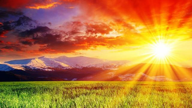 Солнце и природа