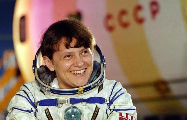 Космонавт Светлана Евгеньевна Савицкая