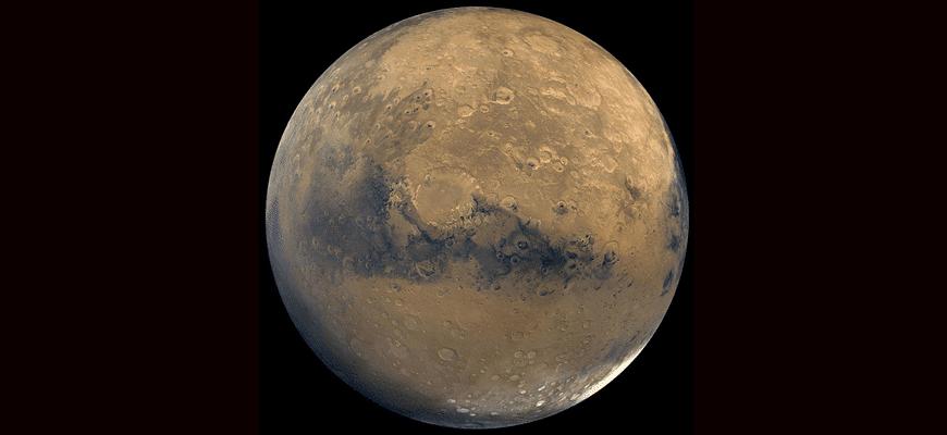 Особенности планеты Марс