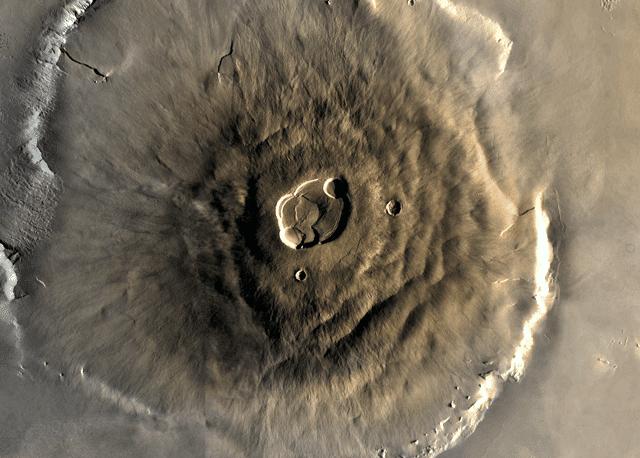 Гора Олимп на Марсе