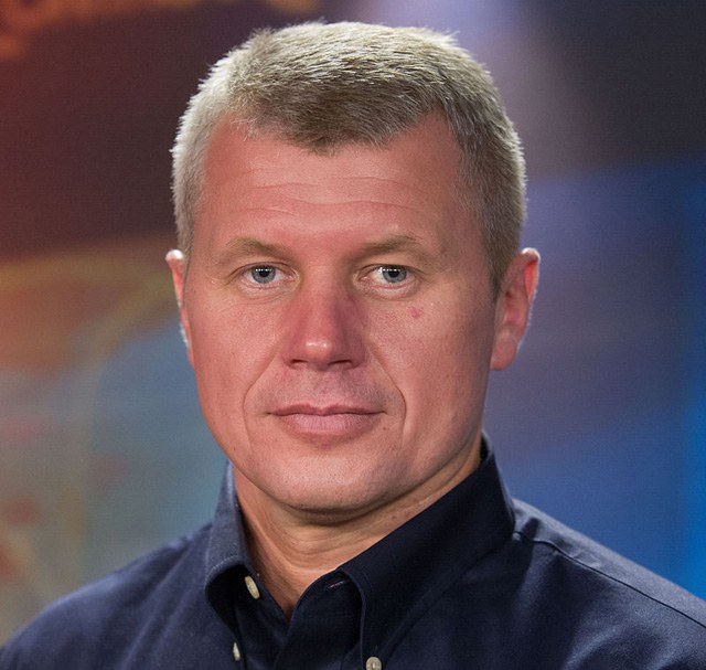 Космонавт Новицкий Олег Викторович