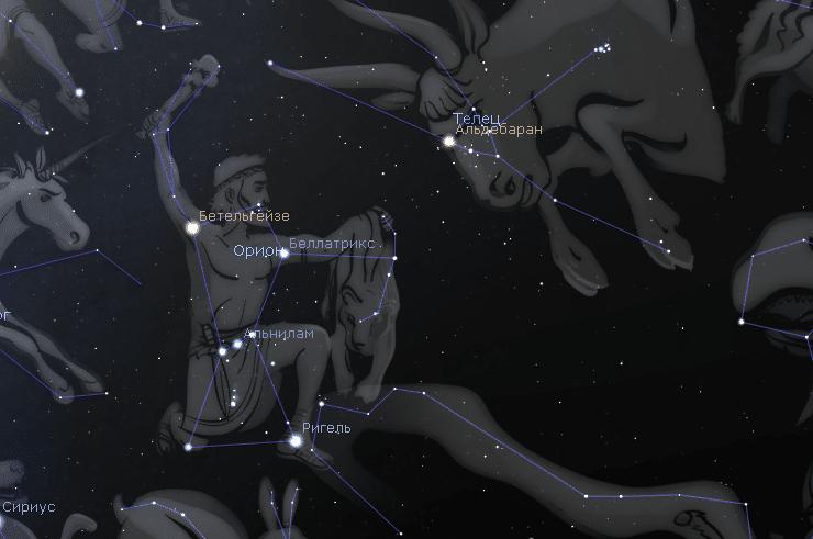 Как найти звезду Альдебаран