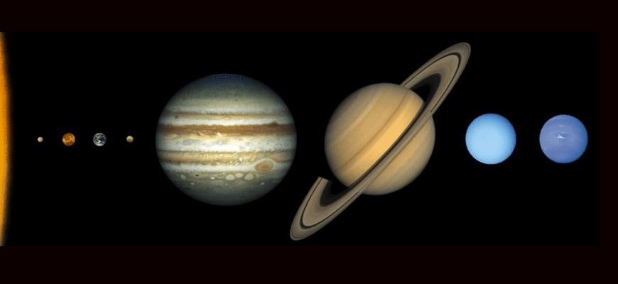 Какая планета вращается в обратном направлении