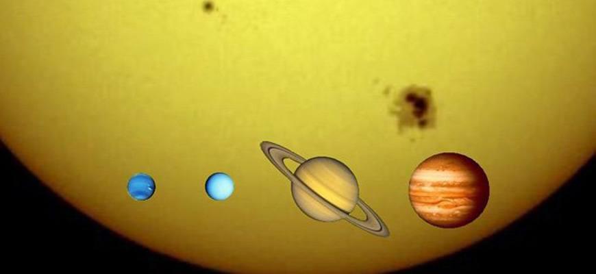 Газовые планеты Солнечной системы