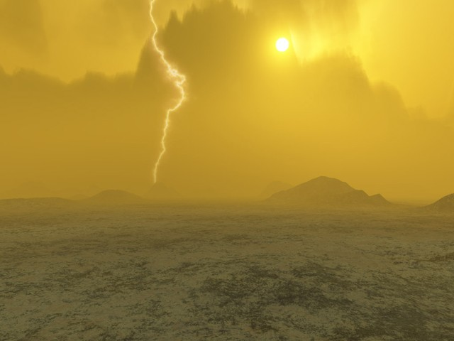 Погода на планете Венера