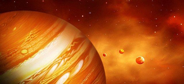 Температура Юпитера