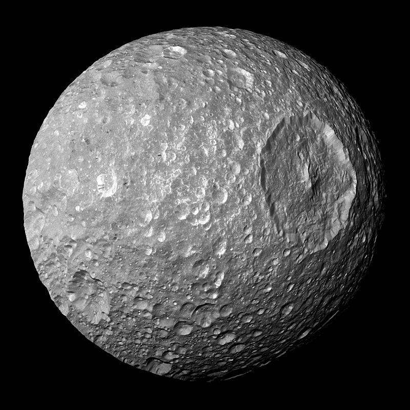 Мимас спутник Сатурна