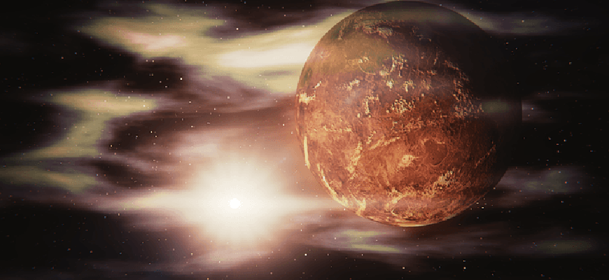 Самая горячая планета солнечной системы