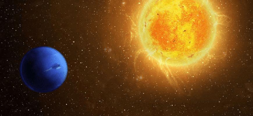 Расстояние от Солнца до Урана