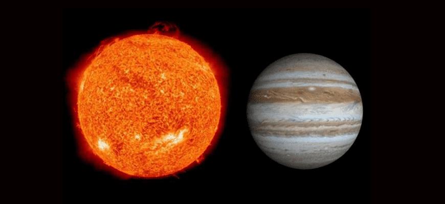 Расстояние от Солнца до Юпитера