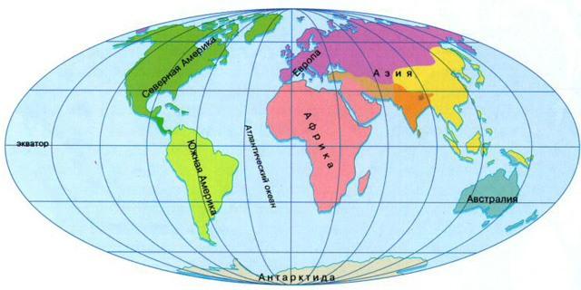 Сколько частей света на Земле