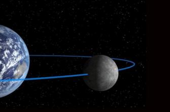 Почему Луна повернута к Земле одной стороной