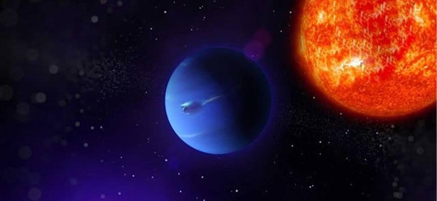 Какое расстояние от Солнца до Нептуна