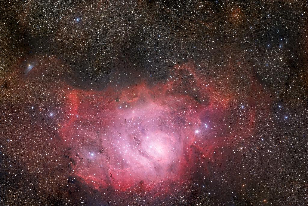 Туманность Лагуна ( NGC 6523, Messier 8)