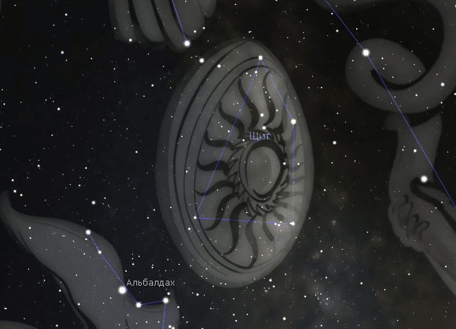 Созвездие Щит