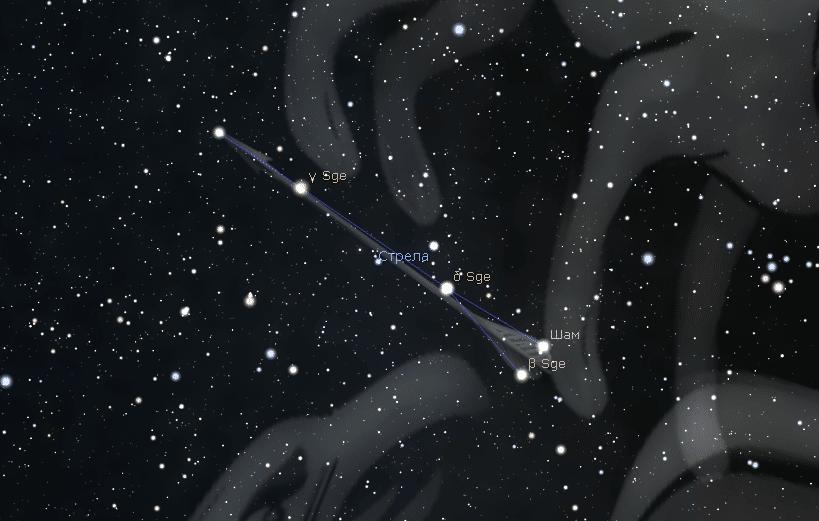 Созвездие Стрела
