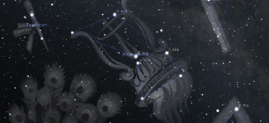 Созвездие Жертвенник