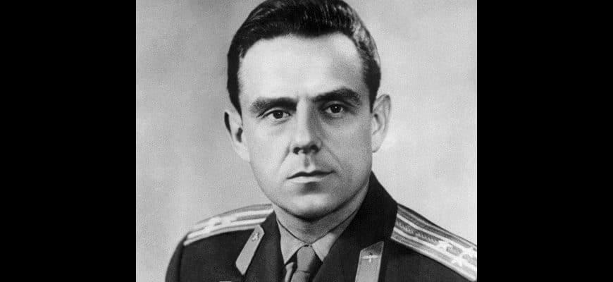 Космонавт Владимир Михайлович Комаров