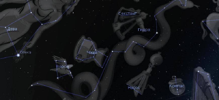 Картинка созвездие гидра