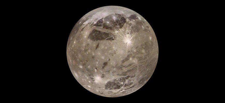 Ганимед – спутник Юпитера