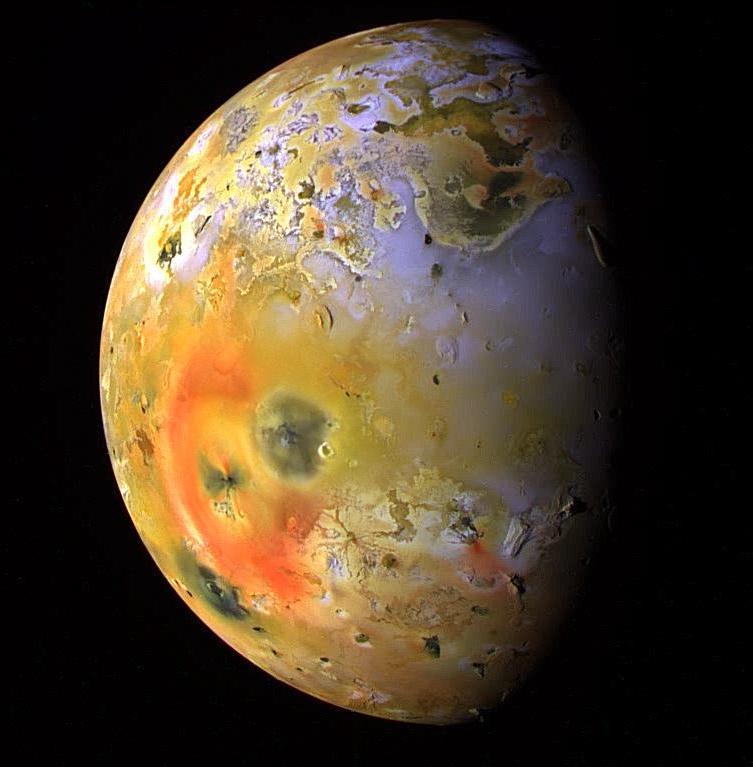 О спутнике Юпитера Ио