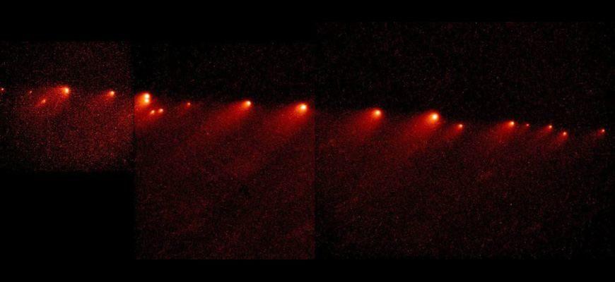 Комета Шумейкеров — Леви