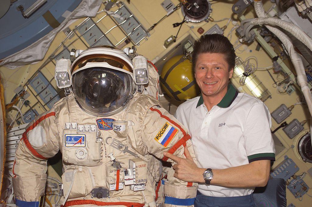Космонавт на МКС