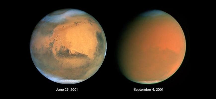 Продолжительность года на Марсе