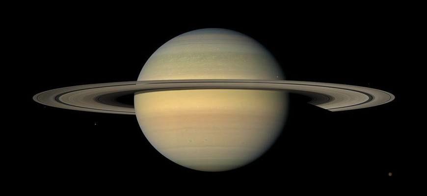 Размер Сатурна