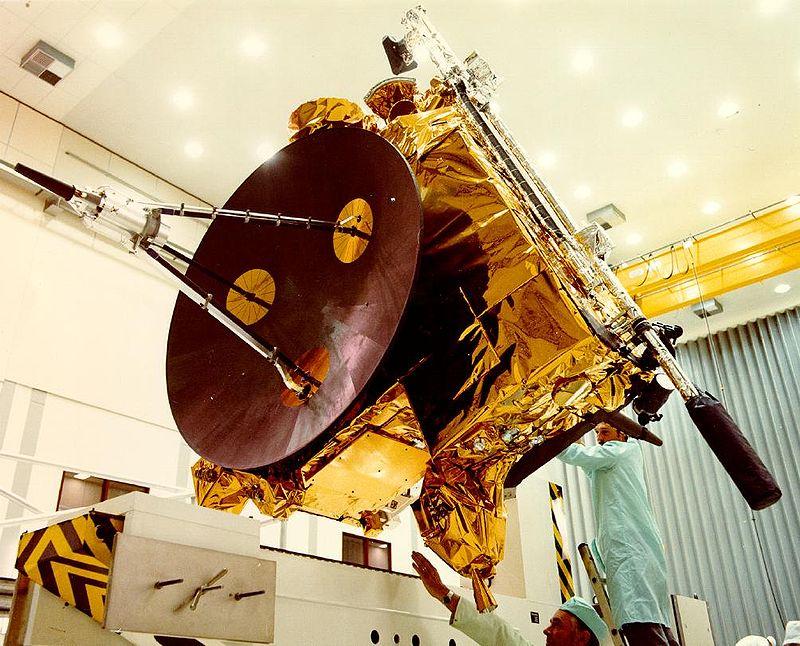 Космический аппарат «Улисс», который пересёк хвост кометы 1 мая 1996 года.