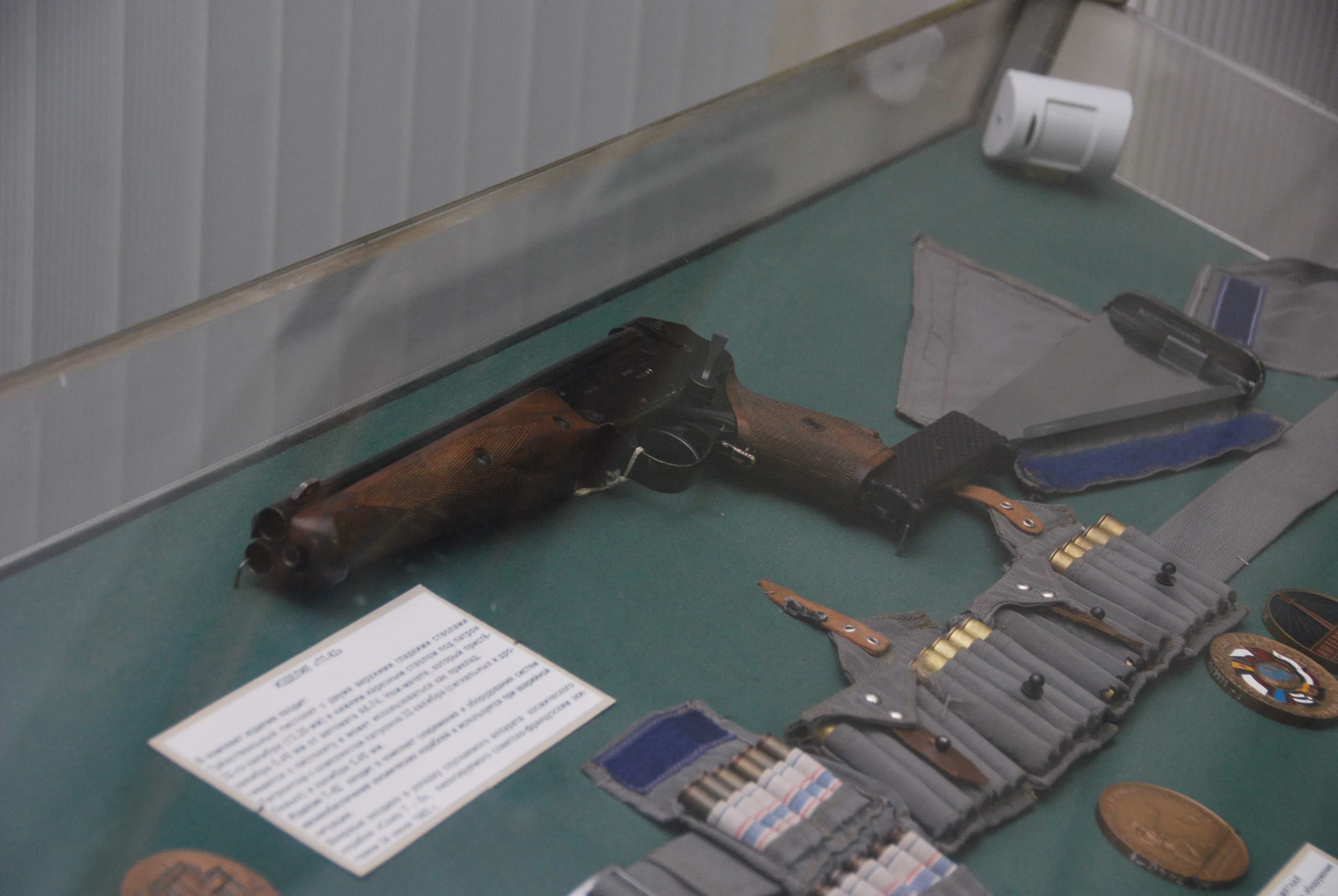 ТП-82 – пистолет космонавтов
