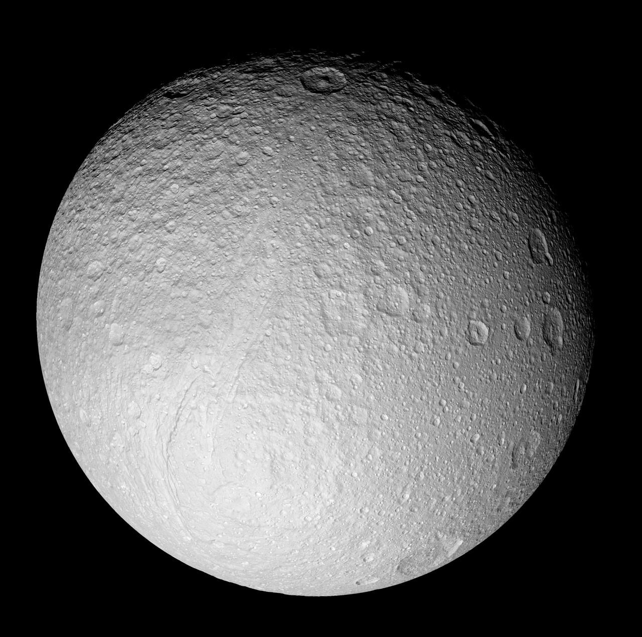 Спутник Сатурна, Тефия