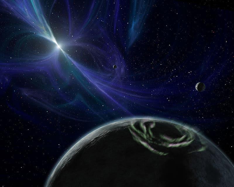Экзопланета и пульсар