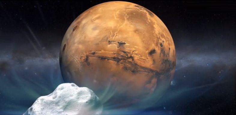 Период обращения Марса вокруг Солнца