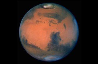 Почему Марс красный