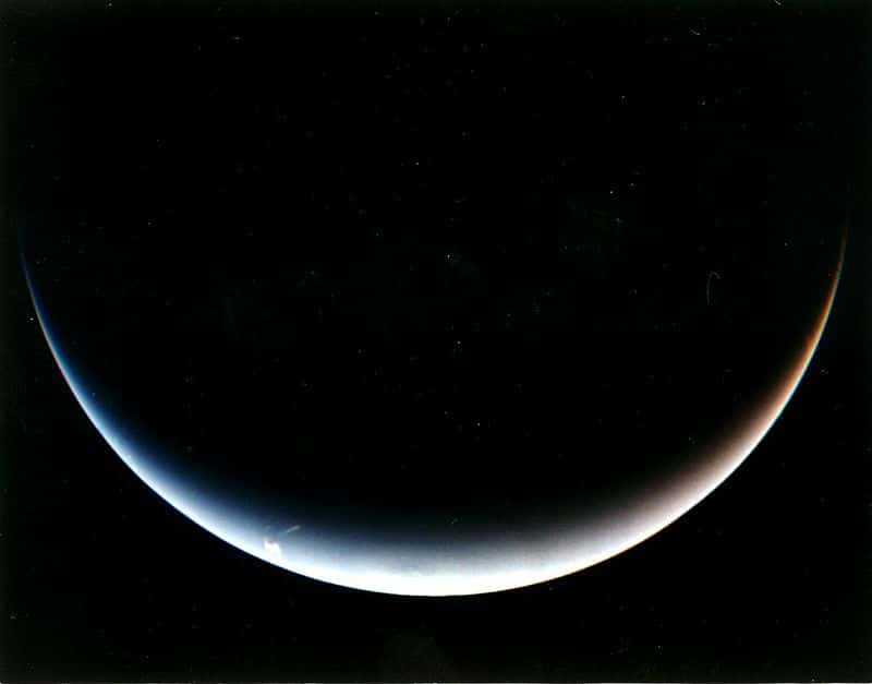 Вид на Южный полюс Нептуна