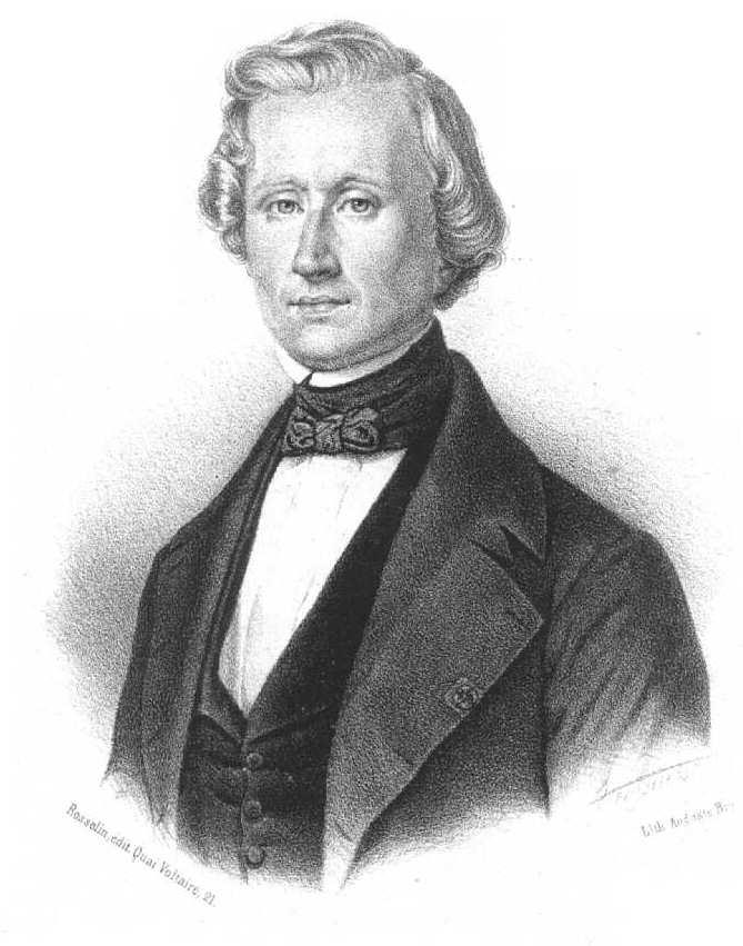 Урбен Леверье, математик, открывший Нептун «на кончике пера»